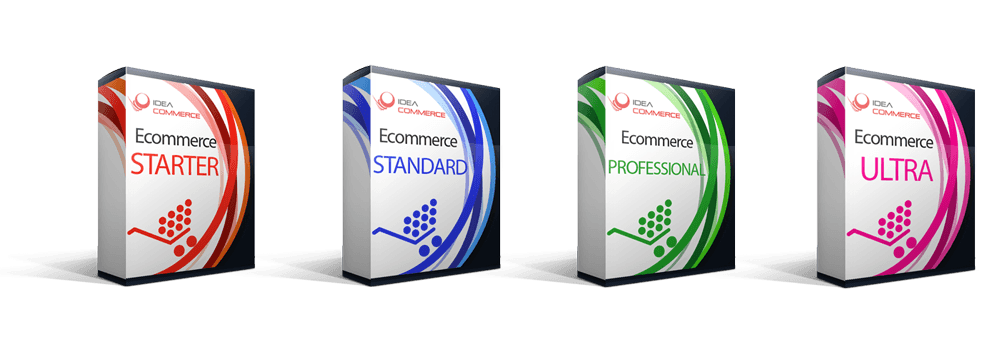 Sito eCommerce Carrello Elettronico Business, Premium e Professional, creazione e-commerce Custom Pack