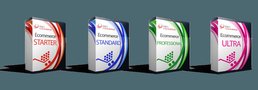 Sito eCommerce Carrello Elettronico Business, Premium e Professional, creazione e-commerce Custom Pack