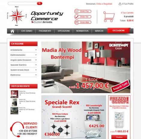 Opportunitycommerce.com Vendita Online Arredamento ed Elettrodomestici