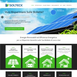 Solteck Energie Rinnovabili, Efficienza Energetica, Impianti Fotovoltaici