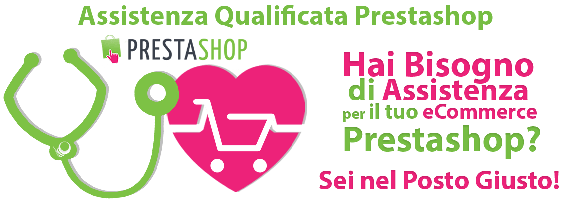 Assistenza e-Commerce Prestashop