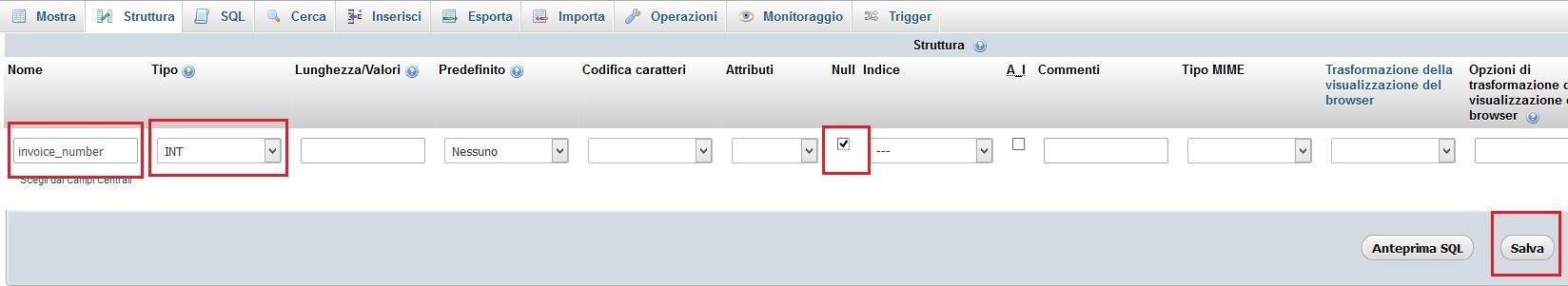Campo incoice_number nella tabella ps_order_slip