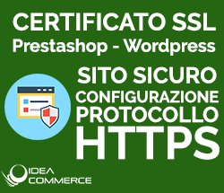 Certificato SSL Assistenza Prestashop e Wordpress
