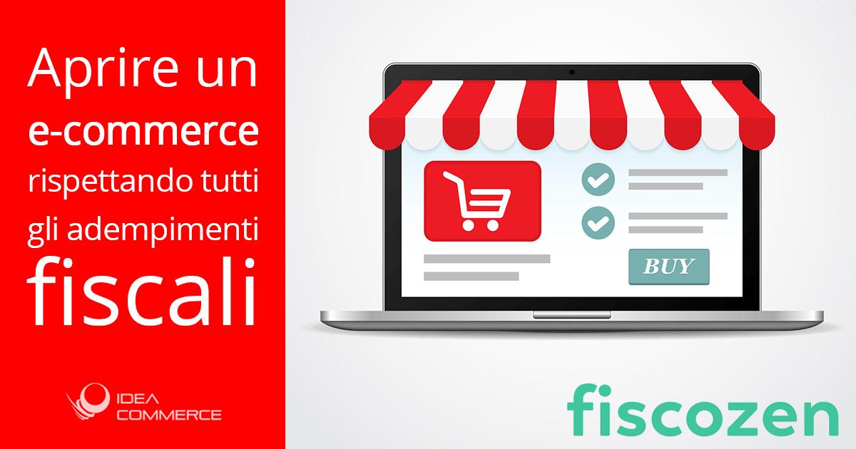 Aprire e-commerce: tutti gli adempimenti fiscali