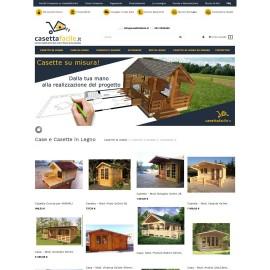 Realizzazione portale ecommerce Casettafacile.it