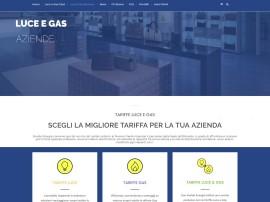 Progettazione Landing Page Tariffe Luce e Gas Aziende Eneide Energia