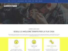 Progettazione Landing Page Tariffe Luce e Gas Privati Eneide Energia