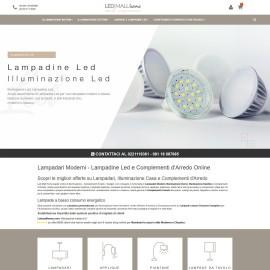 Realizzazione Ecommerce Ledmallhome.com