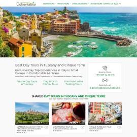 Realizzazione Sito Web Turistico Dolcevitatour.it in lingua inglese